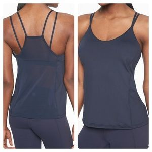 Athleta Dream Support Top in Navy size Small